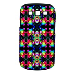 Colorful Bright Seamless Flower Pattern Samsung Galaxy S III Classic Hardshell Case (PC+Silicone)