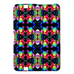 Colorful Bright Seamless Flower Pattern Kindle Fire HD 8.9