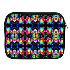 Colorful Bright Seamless Flower Pattern Apple iPad 2/3/4 Zipper Cases