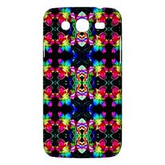 Colorful Bright Seamless Flower Pattern Samsung Galaxy Mega 5.8 I9152 Hardshell Case