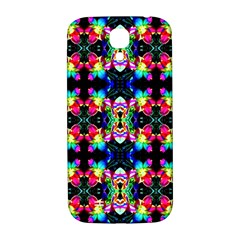 Colorful Bright Seamless Flower Pattern Samsung Galaxy S4 I9500/I9505  Hardshell Back Case