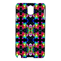 Colorful Bright Seamless Flower Pattern Samsung Galaxy Note 3 N9005 Hardshell Case
