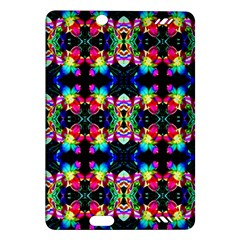 Colorful Bright Seamless Flower Pattern Amazon Kindle Fire HD (2013) Hardshell Case