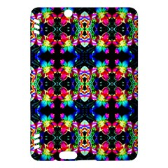 Colorful Bright Seamless Flower Pattern Kindle Fire HDX Hardshell Case