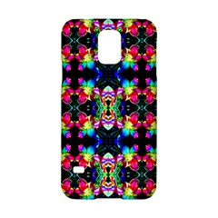 Colorful Bright Seamless Flower Pattern Samsung Galaxy S5 Hardshell Case