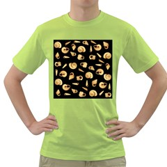 Shell pattern Green T-Shirt