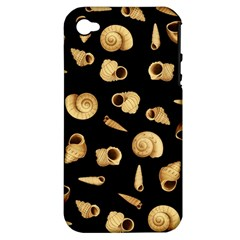 Shell pattern Apple iPhone 4/4S Hardshell Case (PC+Silicone)