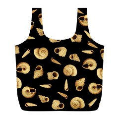 Shell pattern Full Print Recycle Bags (L)