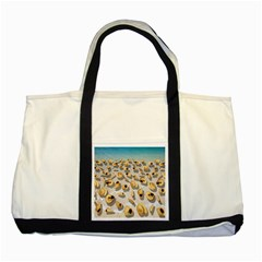 Shell pattern Two Tone Tote Bag