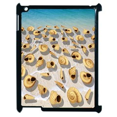 Shell pattern Apple iPad 2 Case (Black)