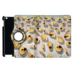 Shell pattern Apple iPad 2 Flip 360 Case