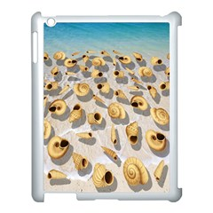 Shell pattern Apple iPad 3/4 Case (White)