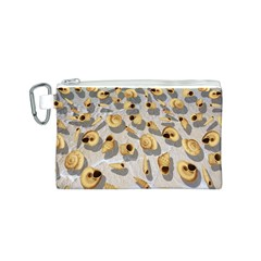 Shell pattern Canvas Cosmetic Bag (S)
