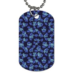 Autumn Leaves Motif Pattern Dog Tag (Two Sides)