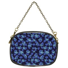Autumn Leaves Motif Pattern Chain Purses (One Side)