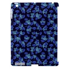 Autumn Leaves Motif Pattern Apple iPad 3/4 Hardshell Case (Compatible with Smart Cover)