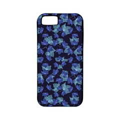 Autumn Leaves Motif Pattern Apple iPhone 5 Classic Hardshell Case (PC+Silicone)
