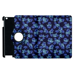 Autumn Leaves Motif Pattern Apple iPad 3/4 Flip 360 Case
