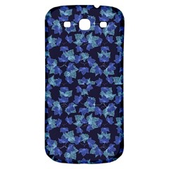 Autumn Leaves Motif Pattern Samsung Galaxy S3 S III Classic Hardshell Back Case
