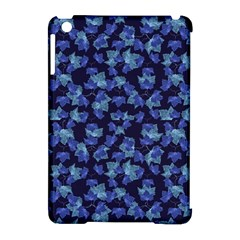 Autumn Leaves Motif Pattern Apple iPad Mini Hardshell Case (Compatible with Smart Cover)
