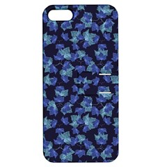 Autumn Leaves Motif Pattern Apple iPhone 5 Hardshell Case with Stand