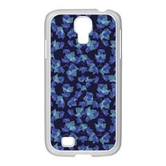 Autumn Leaves Motif Pattern Samsung GALAXY S4 I9500/ I9505 Case (White)