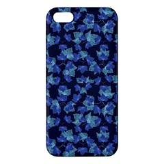 Autumn Leaves Motif Pattern iPhone 5S/ SE Premium Hardshell Case