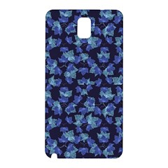 Autumn Leaves Motif Pattern Samsung Galaxy Note 3 N9005 Hardshell Back Case