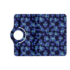 Autumn Leaves Motif Pattern Kindle Fire HD (2013) Flip 360 Case