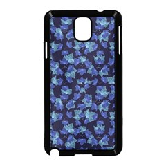 Autumn Leaves Motif Pattern Samsung Galaxy Note 3 Neo Hardshell Case (Black)