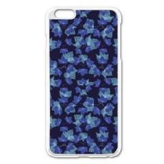 Autumn Leaves Motif Pattern Apple iPhone 6 Plus/6S Plus Enamel White Case