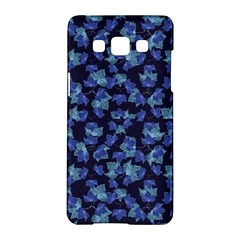 Autumn Leaves Motif Pattern Samsung Galaxy A5 Hardshell Case