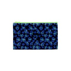 Autumn Leaves Motif Pattern Cosmetic Bag (XS)