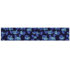 Autumn Leaves Motif Pattern Flano Scarf (Large)