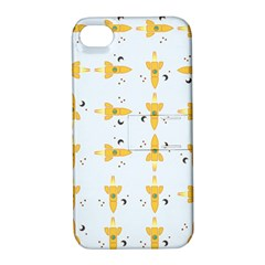 Spaceships Pattern Apple iPhone 4/4S Hardshell Case with Stand