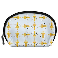 Spaceships Pattern Accessory Pouches (Large)