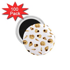 Shell pattern 1.75  Magnets (100 pack)