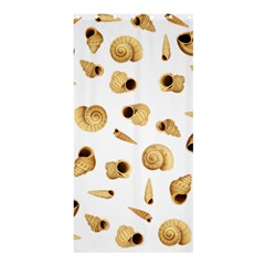 Shell pattern Shower Curtain 36  x 72  (Stall)