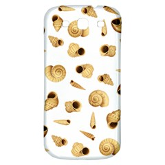 Shell pattern Samsung Galaxy S3 S III Classic Hardshell Back Case