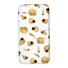 Shell pattern Apple iPhone 4/4S Hardshell Case with Stand