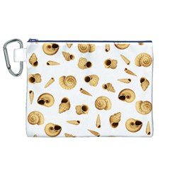 Shell pattern Canvas Cosmetic Bag (XL)