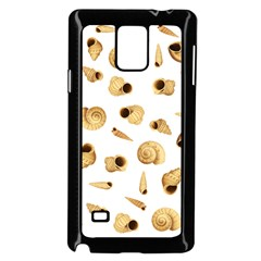 Shell pattern Samsung Galaxy Note 4 Case (Black)