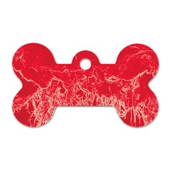 Colors Dog Tag Bone (One Side)