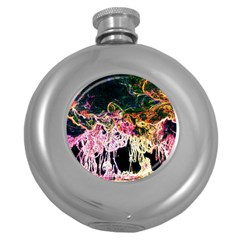 Colors Round Hip Flask (5 oz)