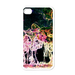 Colors Apple iPhone 4 Case (White)