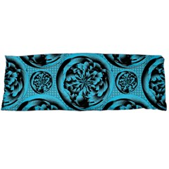 Turquoise Pattern Body Pillow Case (Dakimakura)