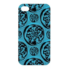 Turquoise Pattern Apple iPhone 4/4S Premium Hardshell Case