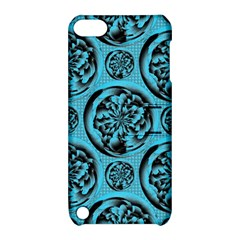 Turquoise Pattern Apple iPod Touch 5 Hardshell Case with Stand