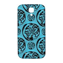 Turquoise Pattern Samsung Galaxy S4 I9500/I9505  Hardshell Back Case