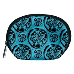 Turquoise Pattern Accessory Pouches (Medium)